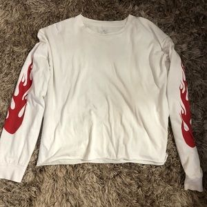 John Galt long sleeve flame